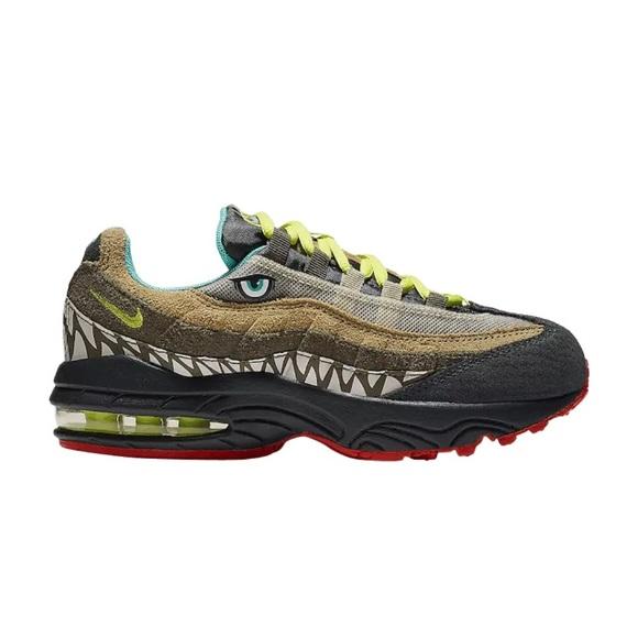 pick up 21a83 00819 NEW Nike Air Max 95 Boys Dinosaur Sneaker Shoe NWT